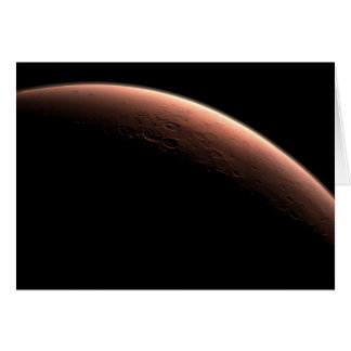 Daybreak at Gale Crater Greeting Cards