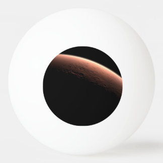 Daybreak at Gale Crater Ping Pong Ball