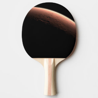 Daybreak at Gale Crater Ping-Pong Paddle