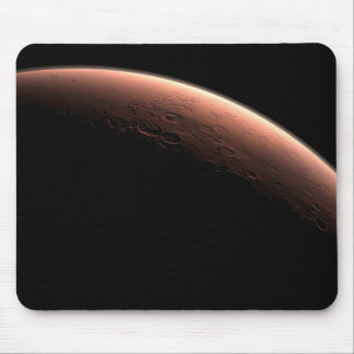 Daybreak at Gale Crater Mouse Pad