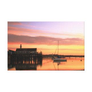 Daybreak at Provincetown Harbor Canvas Print