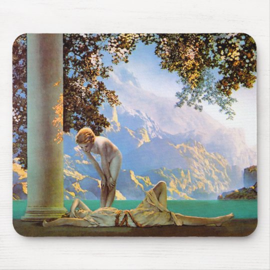 Daybreak - by Maxfield Parrish Mouse Pad