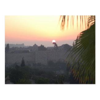 Daybreak Jerusalem Postcard