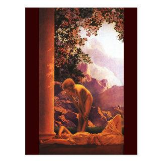 Daybreak, Maxfield Parrish Fine Art Postcard