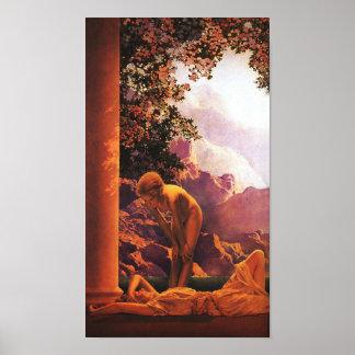 Daybreak, Maxfield Parrish Poster