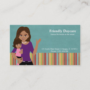 daycare business card - Daycare Business Cards