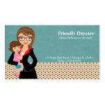 Daycare Double-Sided Standard Business Cards (Pack Of 100)