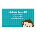 Daycare child care babysitting Mommy calling card