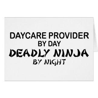 Daycare Deadly Ninja by Night Card