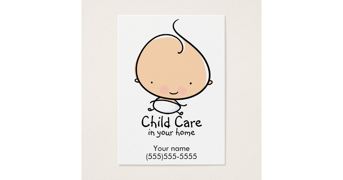 Daycare Business Cards & Templates | Zazzle
