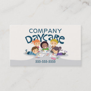 daycare professional business card - Daycare Business Cards