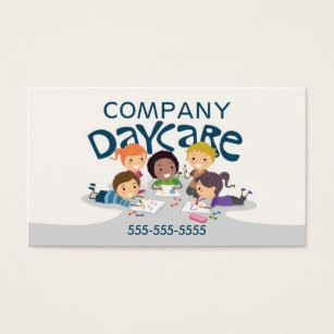Daycare business cards templates zazzle daycare professional business card colourmoves Gallery