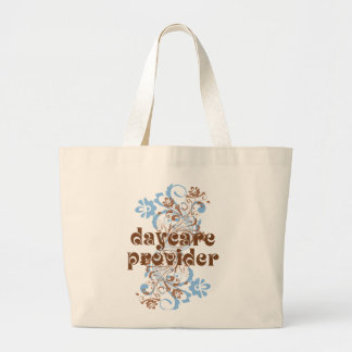 Daycare Provider Cute Gift Large Tote Bag