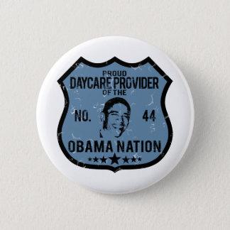 Daycare Provider Obama Nation Button
