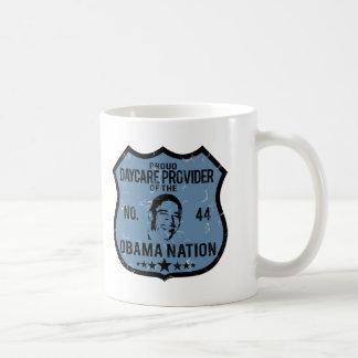 Daycare Provider Obama Nation Classic White Coffee Mug