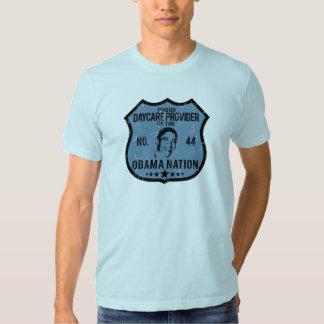 Daycare Provider Obama Nation T Shirt