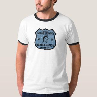Daycare Provider Obama Nation Tee Shirt