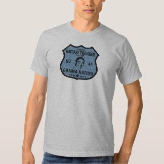 Daycare Provider Obama Nation Tshirts