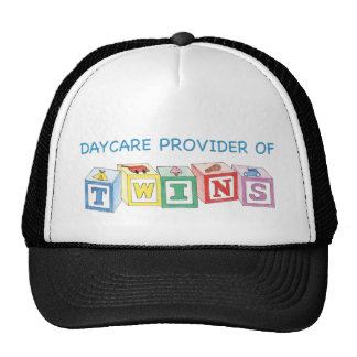 Daycare Provider of Twins Blocks Trucker Hat