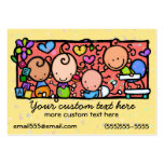Daycare Toddlers Baby Nursery Babysitting template Large Business Card