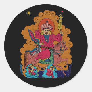 Daychin Tengry Classic Round Sticker