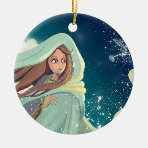 daydream girl Ornament