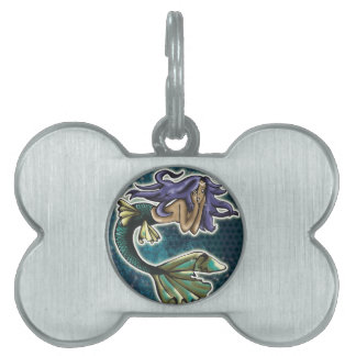 Daydream Mermaid Pet Name Tag