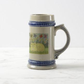 Daydream of the Daffodil Tabby Coffee Mug