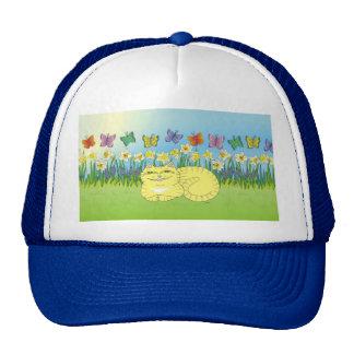 Daydream of the Daffodil Tabby Trucker Hat