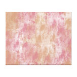 Daydream Pink Stretched Canvas Print