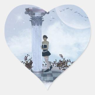 Daydream Heart Sticker