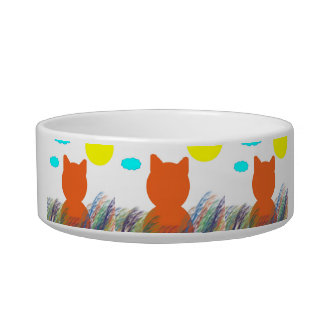 Daydreamer Kitty Bowl