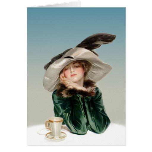 Daydreaming Greeting Card