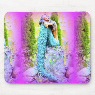daydreaming mermaid mousepad