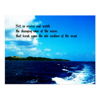 Daydreaming Postcard