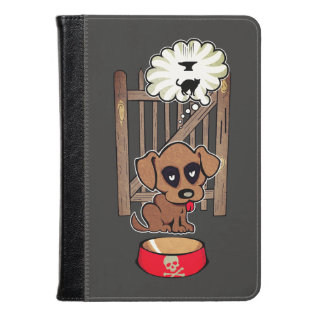Daydreaming Puppy Kindle Case at Zazzle