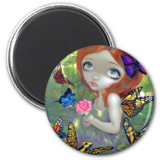 """Daydreams and Frogs"" Magnet"