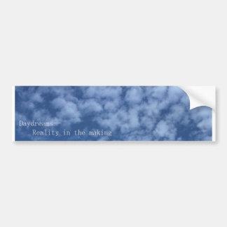 Daydreams Car Bumper Sticker