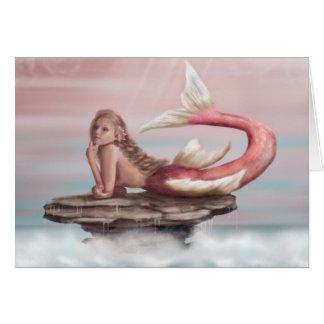 Daydreams Mermaid Greeting Card
