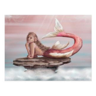 Daydreams Mermaid Postcard