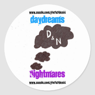 Daydreams & Nightmares Sticker Pack
