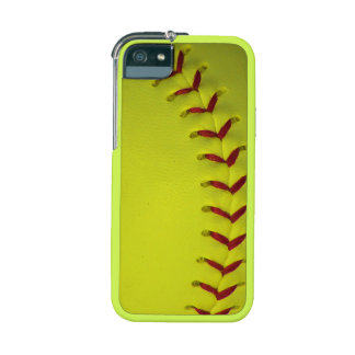 Dayglo Yellow Softball Case For iPhone SE/5/5s