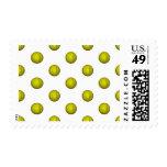 Dayglo Yellow Softball Pattern Stamps