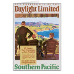 Daylight Limited Vintage Travel Poster Artwork