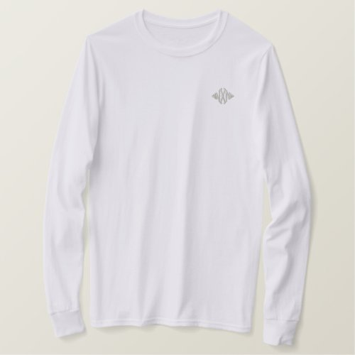 Daylight Logo Embroidered Long Sleeve T_Shirt