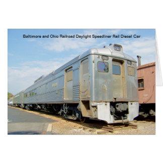 Daylight Speedliner RDC #1961 Card
