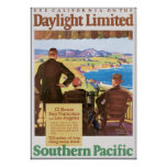 Daylight Unlimited Southern Pacific Travel Poster