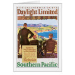 Daylight Unlimited Southern Pacific Travel Poster Card