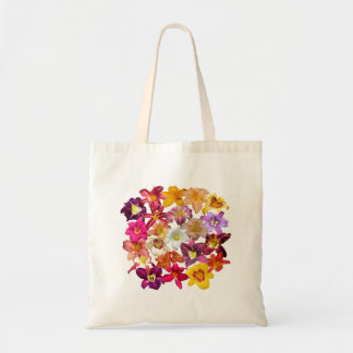 Daylilies Collage Tote Bag