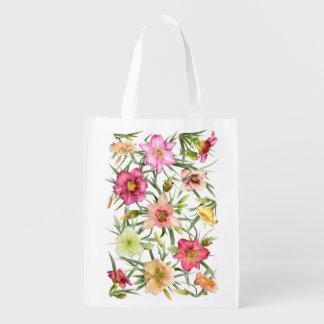 Daylilies por todas partes bolsas para la compra
